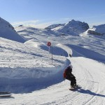 Flaine ski and snowboard