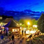 Saint Avit Loisirs Terrace Night 1