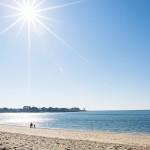 Brittany Benodet Beach