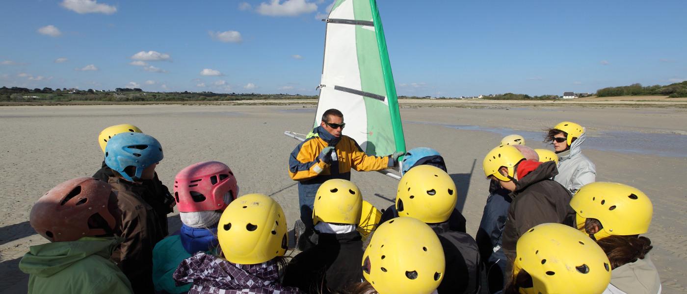 Brittany L'Escale St Gilles Sailing Class