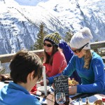 Chamonix mountain lunch