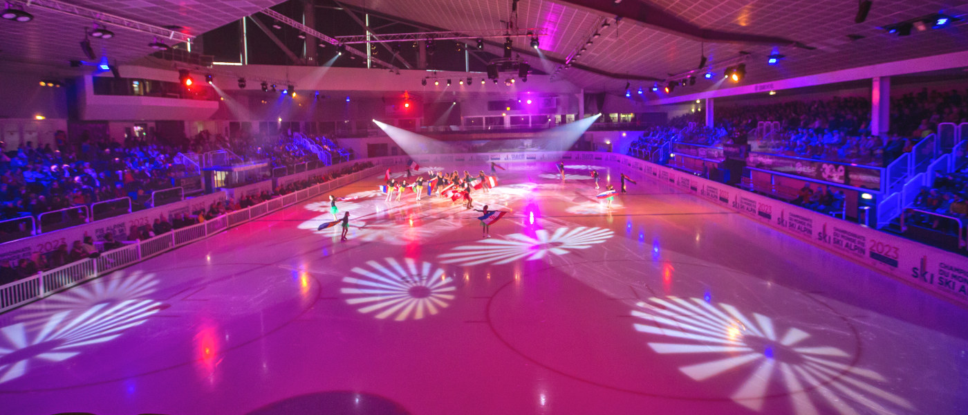 Firefly Holidays Courchevel Ice Rink