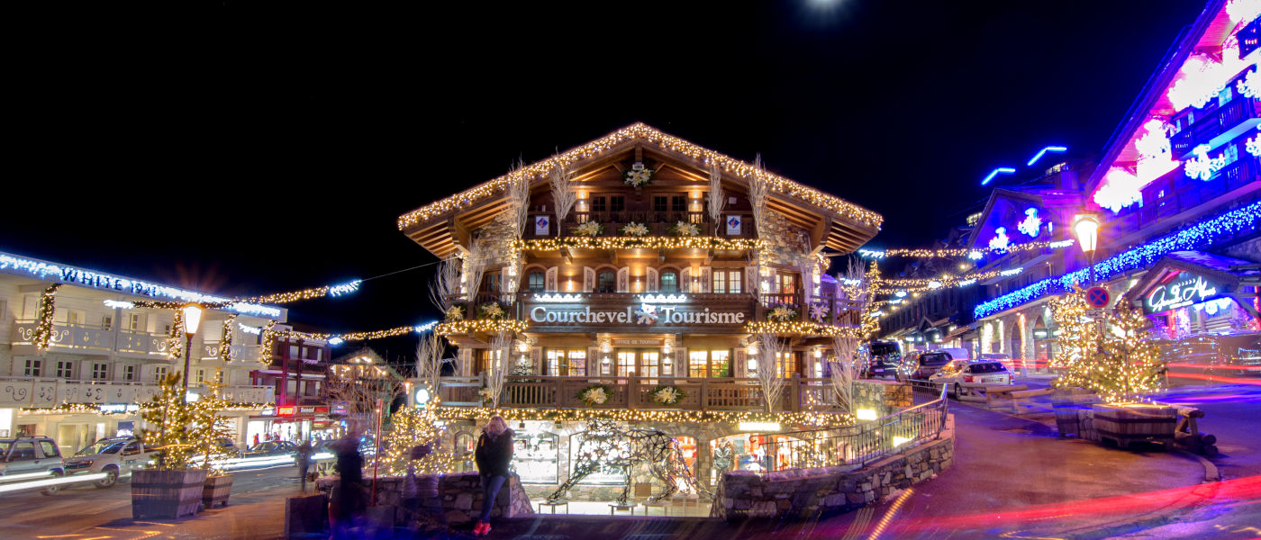 Firefly Holidays Courchevel Town Night 1