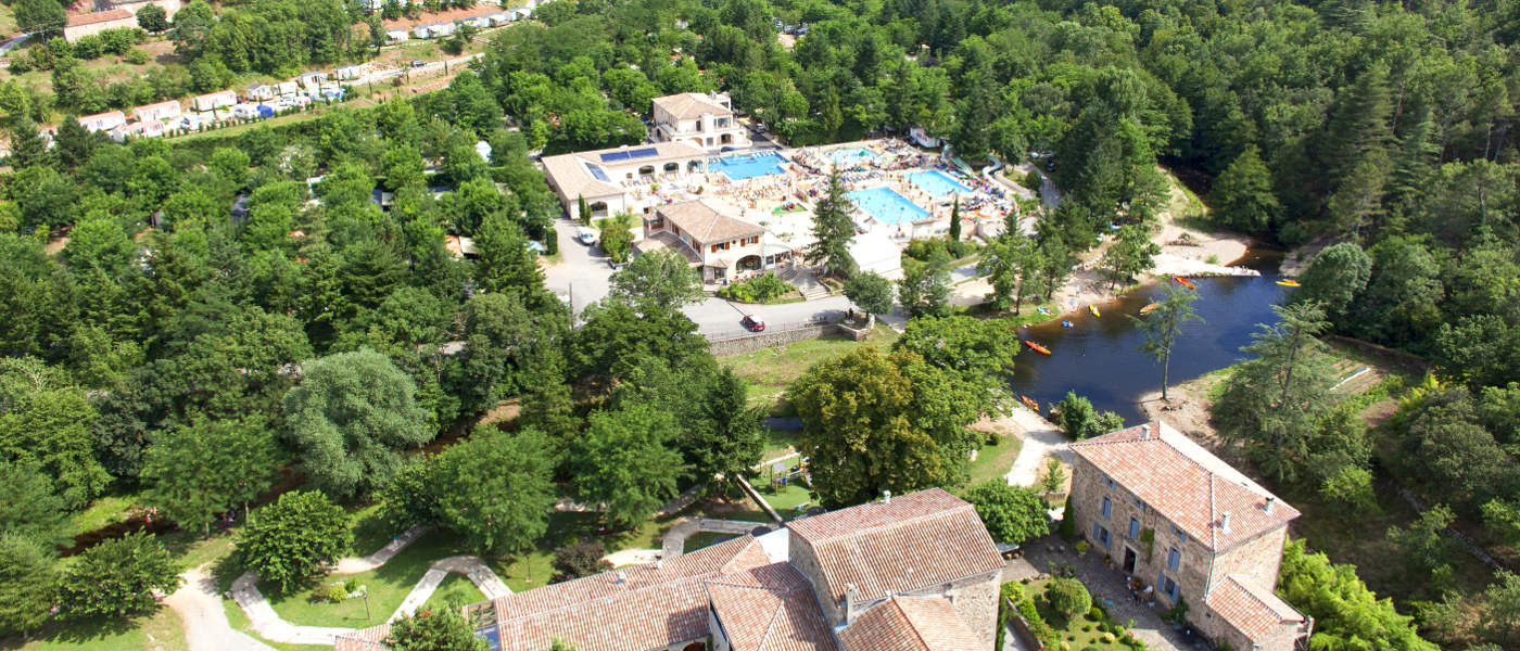 Firefly Holidays Les Ranchisses Aerial View