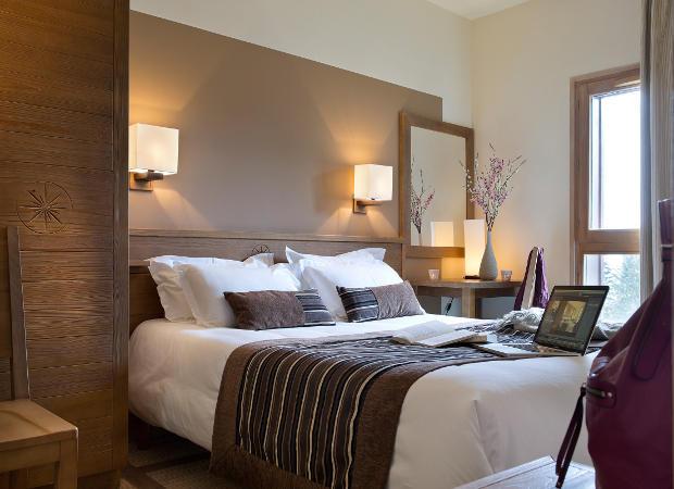 Premium Residence Les Terrasses d'Eos, Flaine, French Alps. Master Bedroom