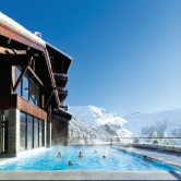 Flaine Terrasses Eos Pool