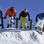 Les Menuires Alpages de Reberty Ski Cross