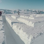 Les Menuires Ice Maze
