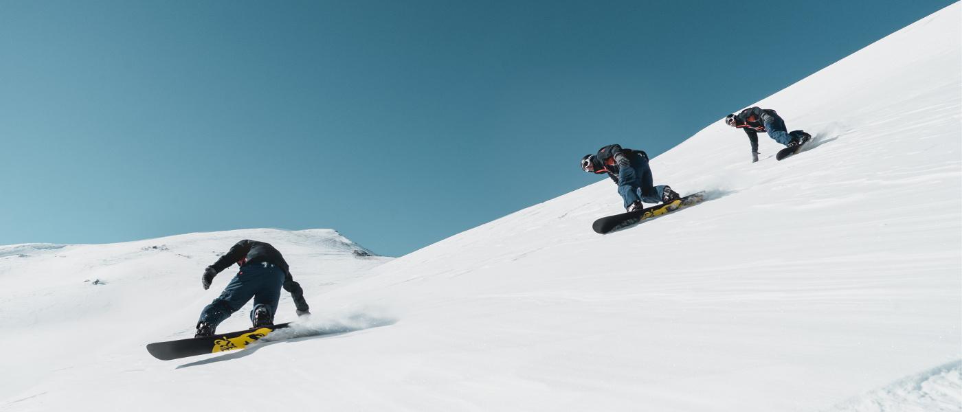 Les Menuires Snowboard Timelapse