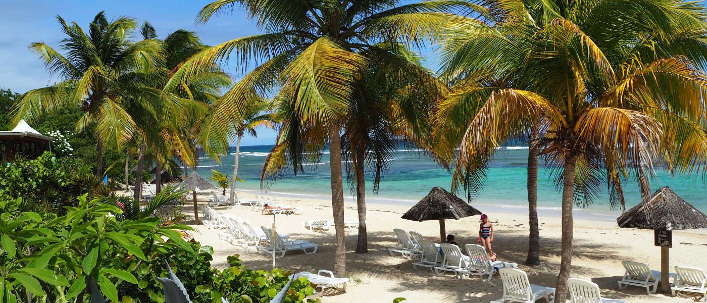 Guadeloupe Les Tamarins Beach 1