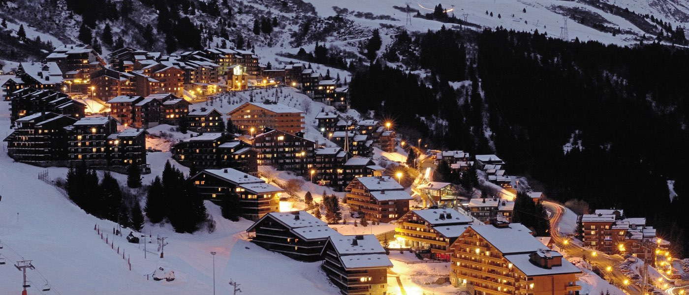 Meribel at night