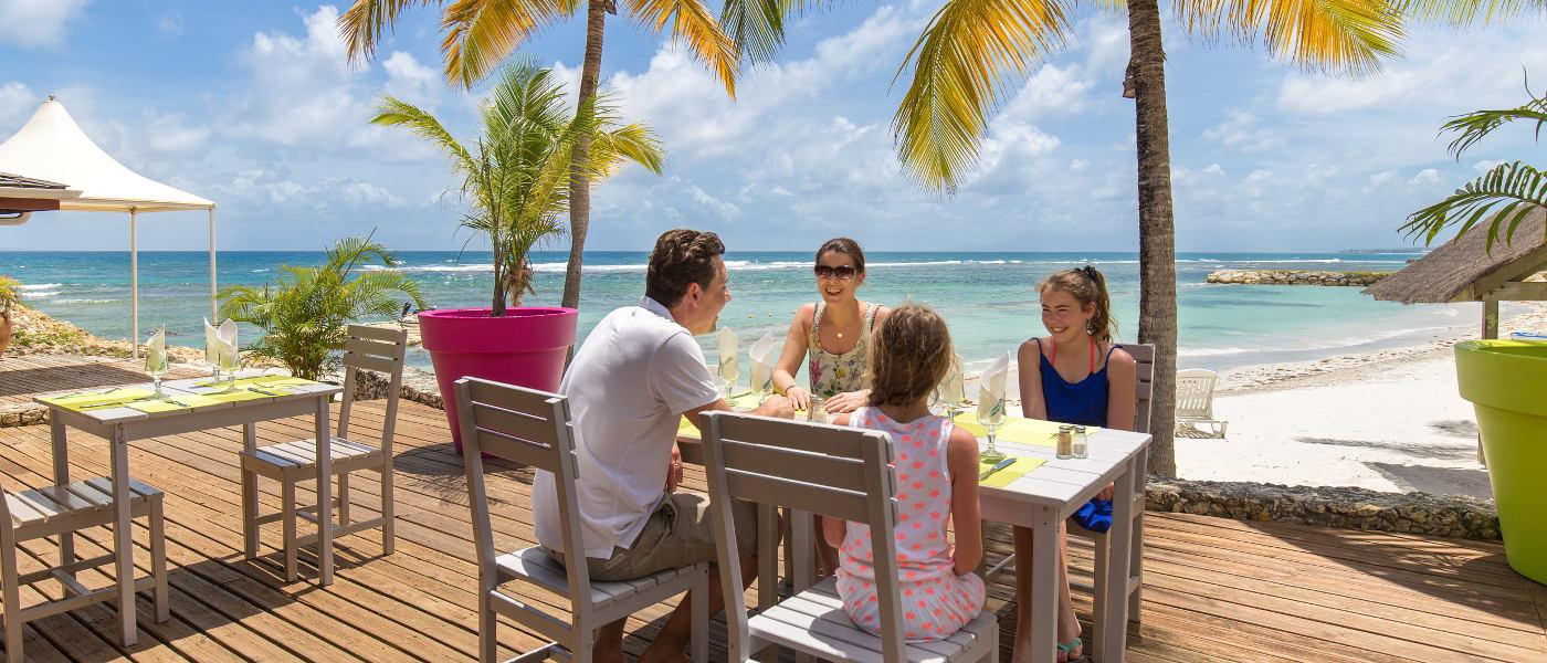 Guadeloupe Sainte Anne Holiday Village Beach Bar