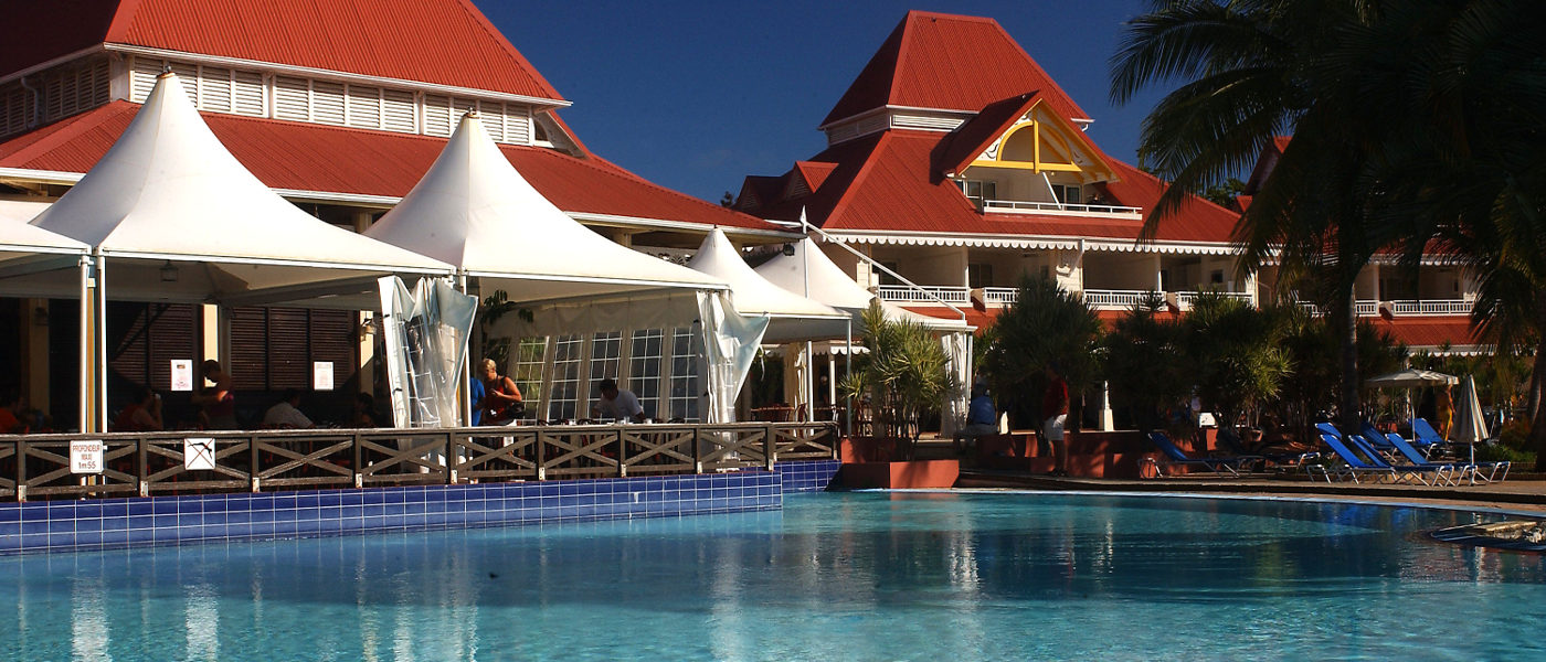 Guadeloupe Sainte Anne Holiday Village Pool Area