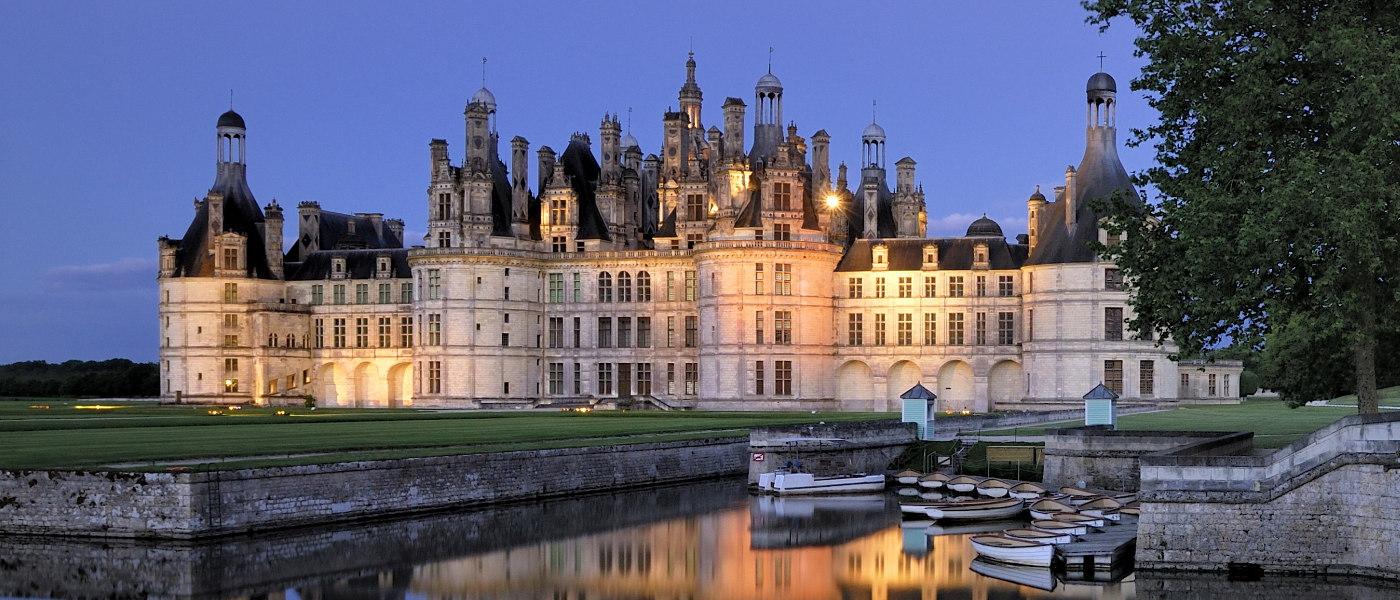 Loire Chambord chateau