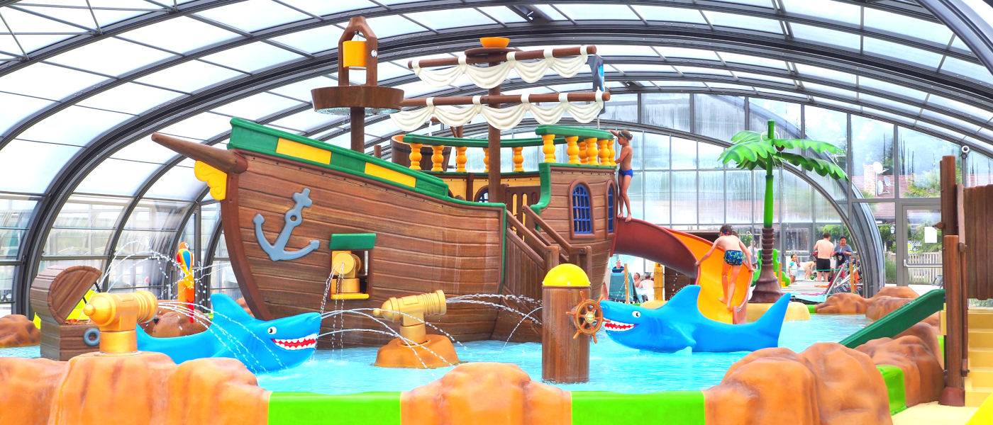 Firefly Holidays Pierrefitte Les Alicourts Resort Pirate Ship Pool