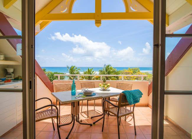 Guadeloupe Sainte Anne 2 Bed Balcony