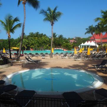 Guadeloupe Sainte Anne 2 Pools