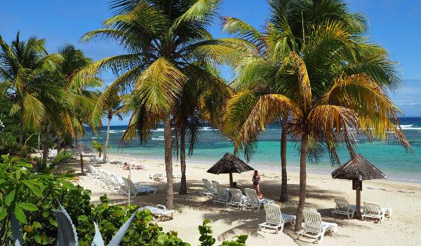 Les Tamarins Beach