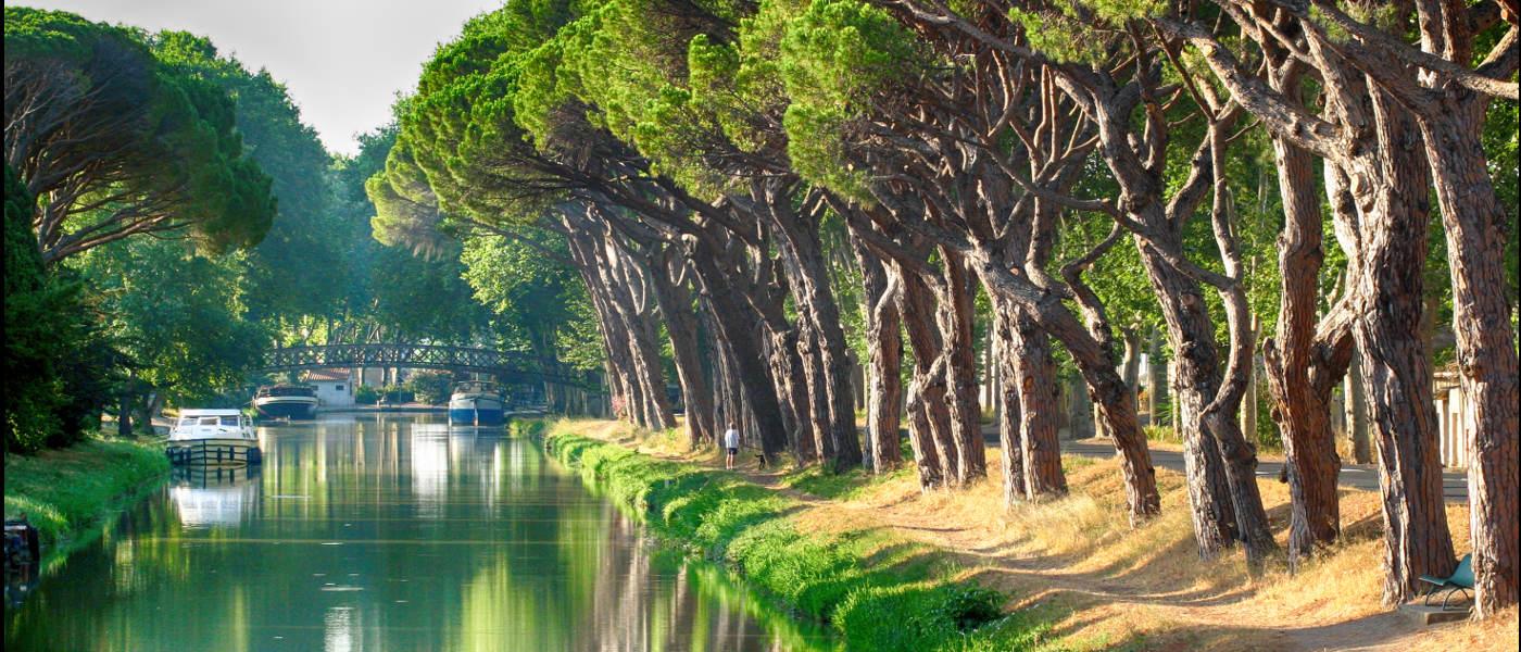 Languedoc Rousillon Canal du Midi