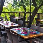 Les Restanques Restaurant Terrace 1