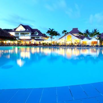 Martinique Sainte Luce Pool Evening