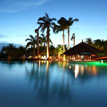 Martinique Sainte Luce Pool Night