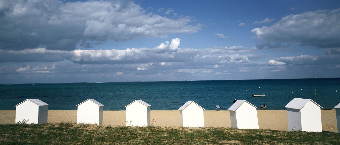 Vendee Ile de Re St Martin Beach