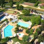 Dordogne Le Paradis Aerial View