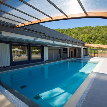 Dordogne Le Paradis Indoor Pool