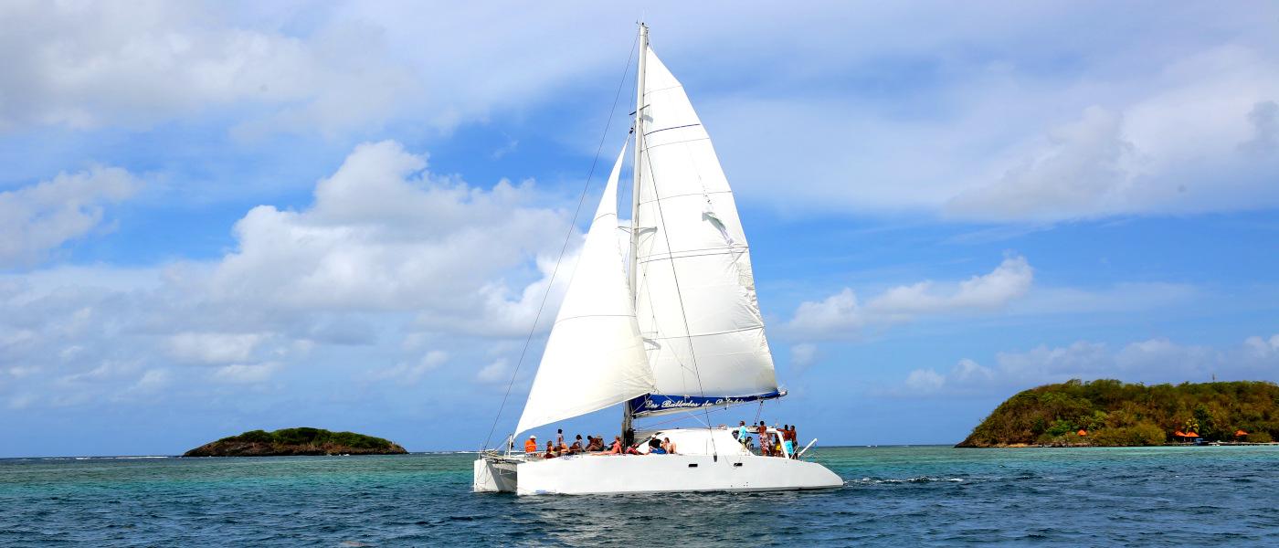 Martinique Guadeloupe Catamaran