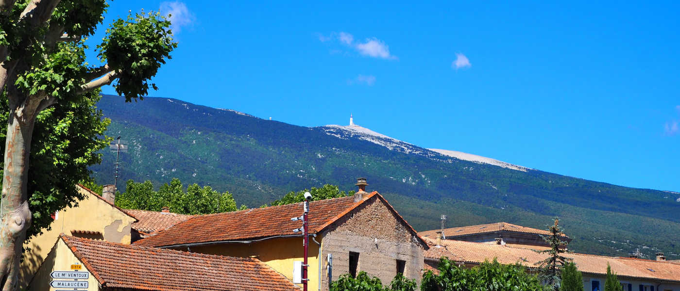 Mont Ventoux from Bedoin