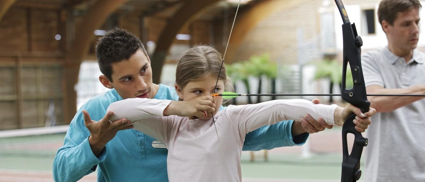Normandy Garden Archery Girl