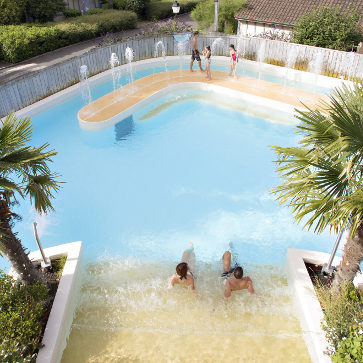 Normandy Garden Outdoor Pool