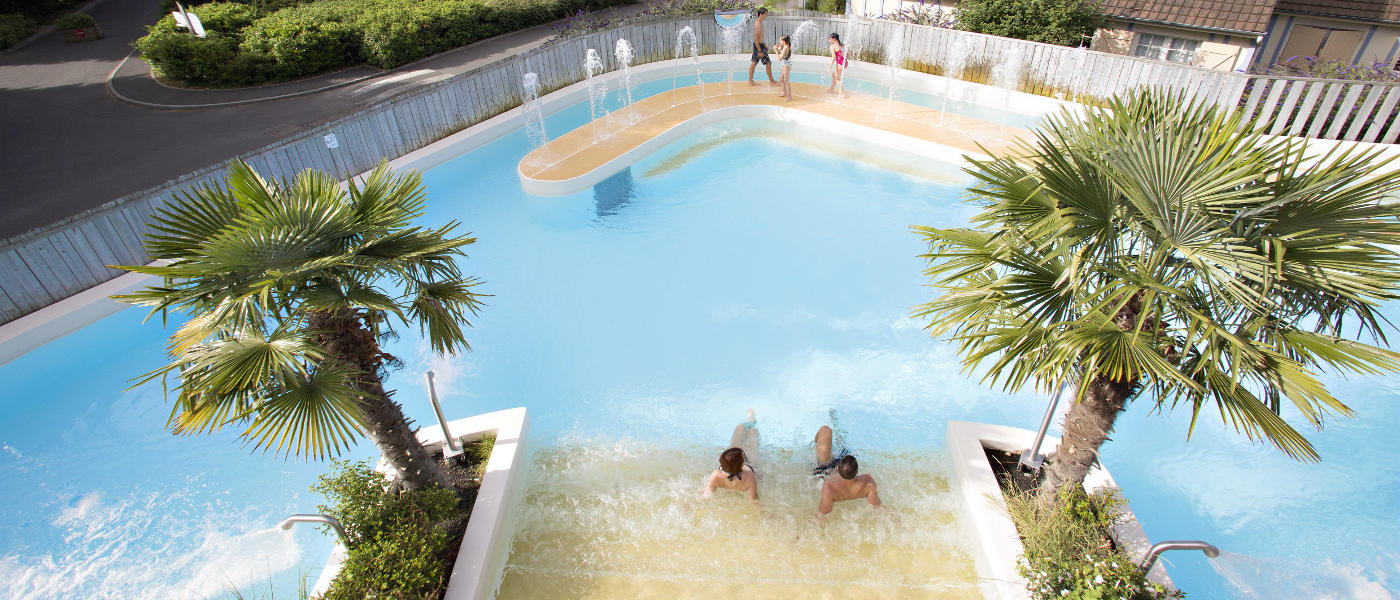 Normandy Garden Outdoor Tropical Pool
