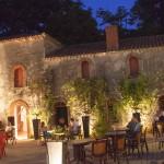 St Julien Foret Courtyard Night