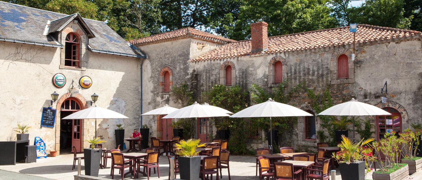 St Julien Foret Daytime Courtyard