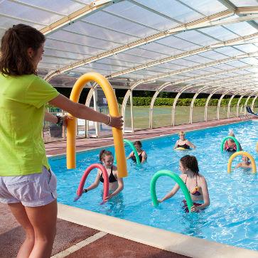 St Julien Foret Pool Inside