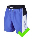 Water shorts medium permitted