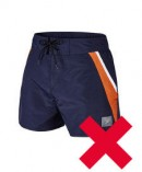 Water shorts not permitted