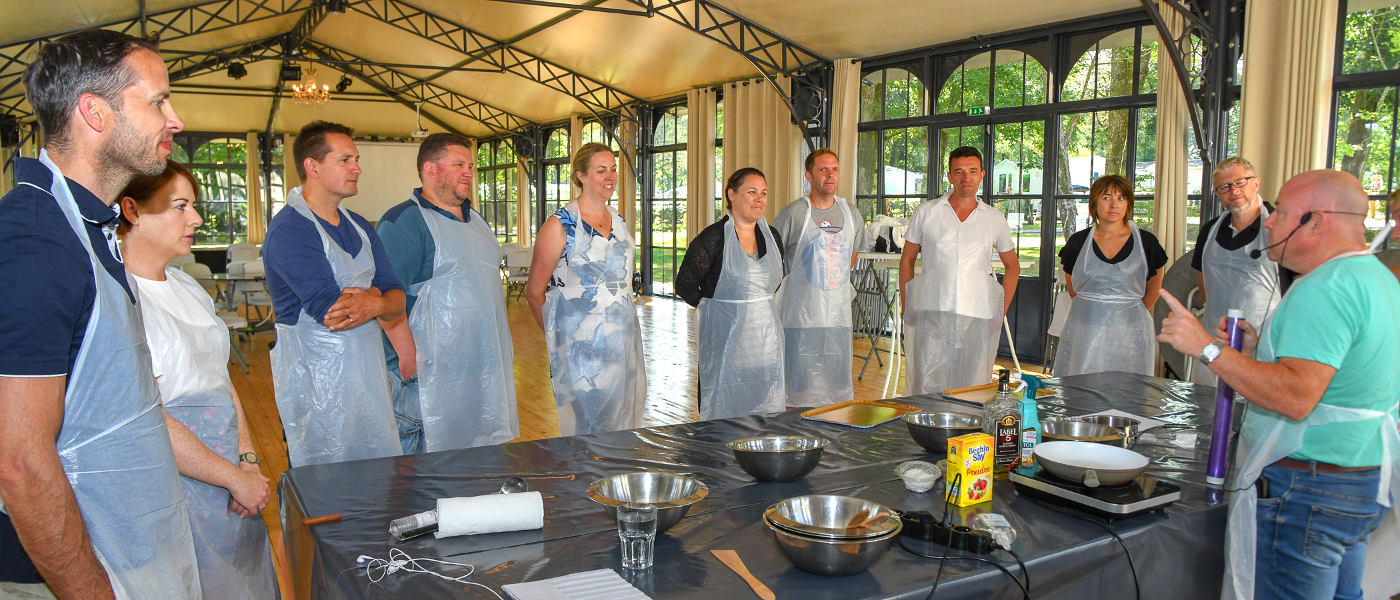 Firefly Holidays Chateau La Foret Cooking