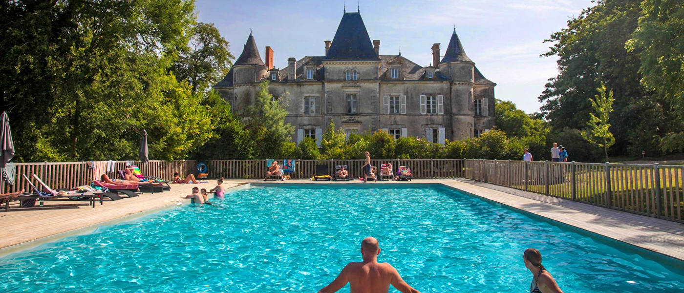 Firefly Holidays Chateau La Foret Open Pool 3