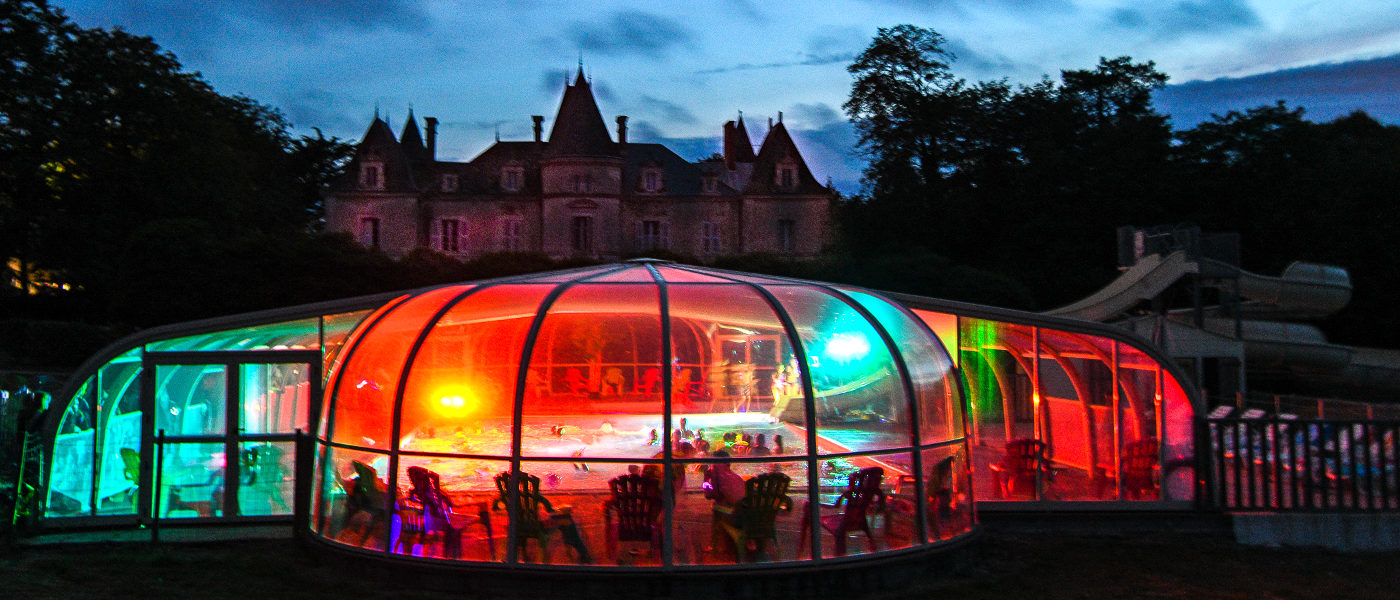 Firefly Holidays Chateau La Foret Pool Party 2
