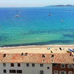 Port Grimaud Beach Aerial 2
