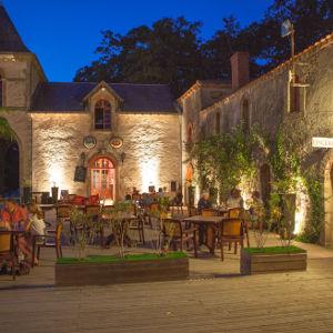 St Julien Foret Night Courtyard