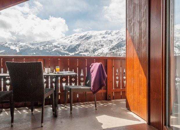 Meribel, Fermes de Meribel - Apartment Balcony
