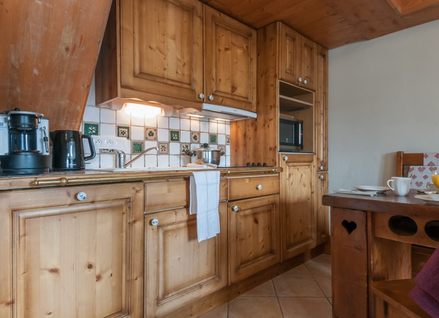 Meribel, Fermes de Meribel - Apartment Kitchen