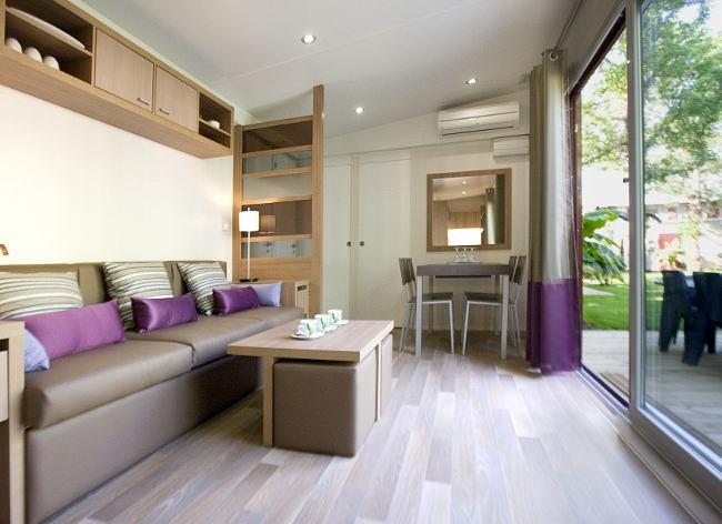 Argelès, Camping La Sirène - 3 Bed Cottage Living