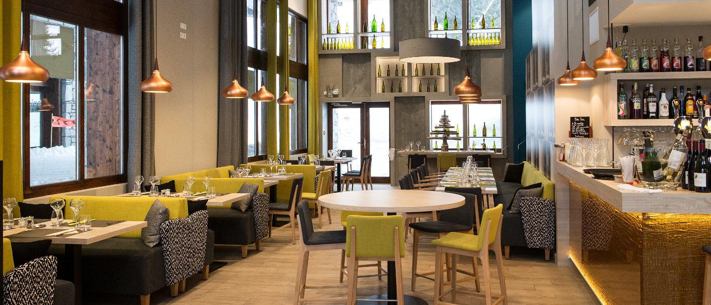 Flaine Terrasses Helios Restaurant