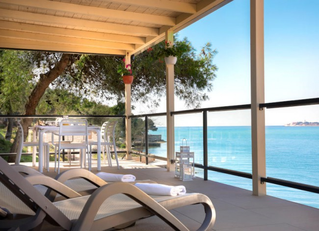 Lanterna Resort, Marbello Premium terrace and sea view