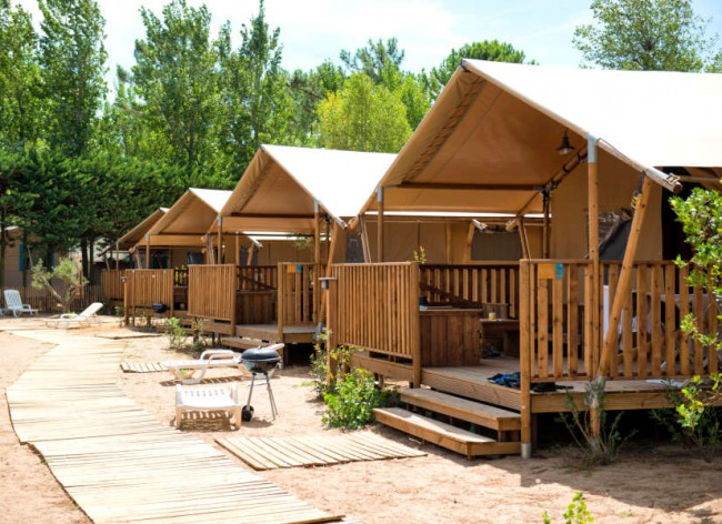 Les Sablons - Stunning Premium Safari Tent encampment